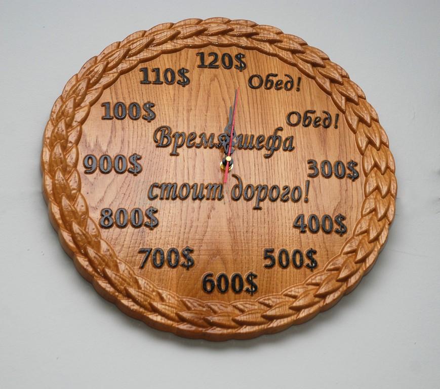Часы «Время шефа»