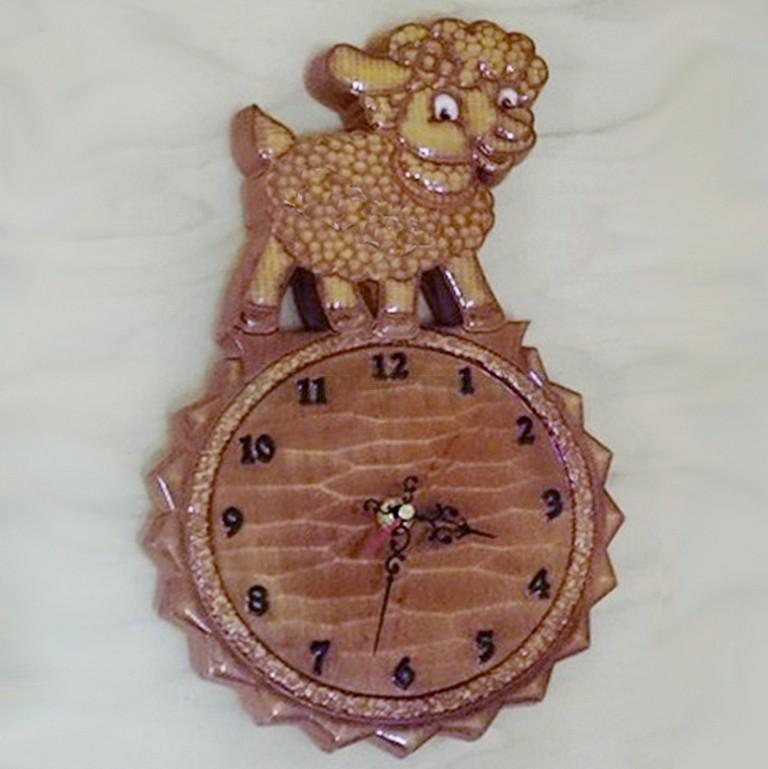 Часы барашек