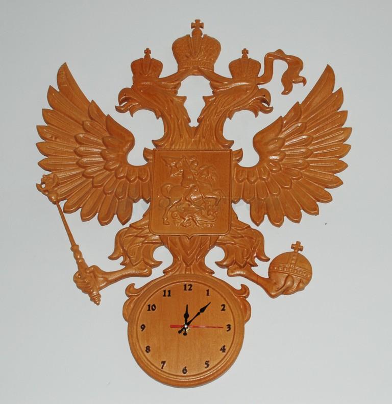 Часы герб