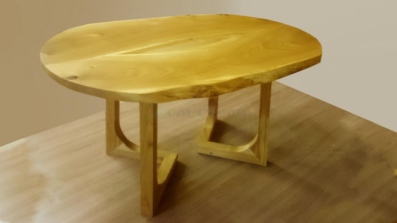 Чайный столик из массива дуба