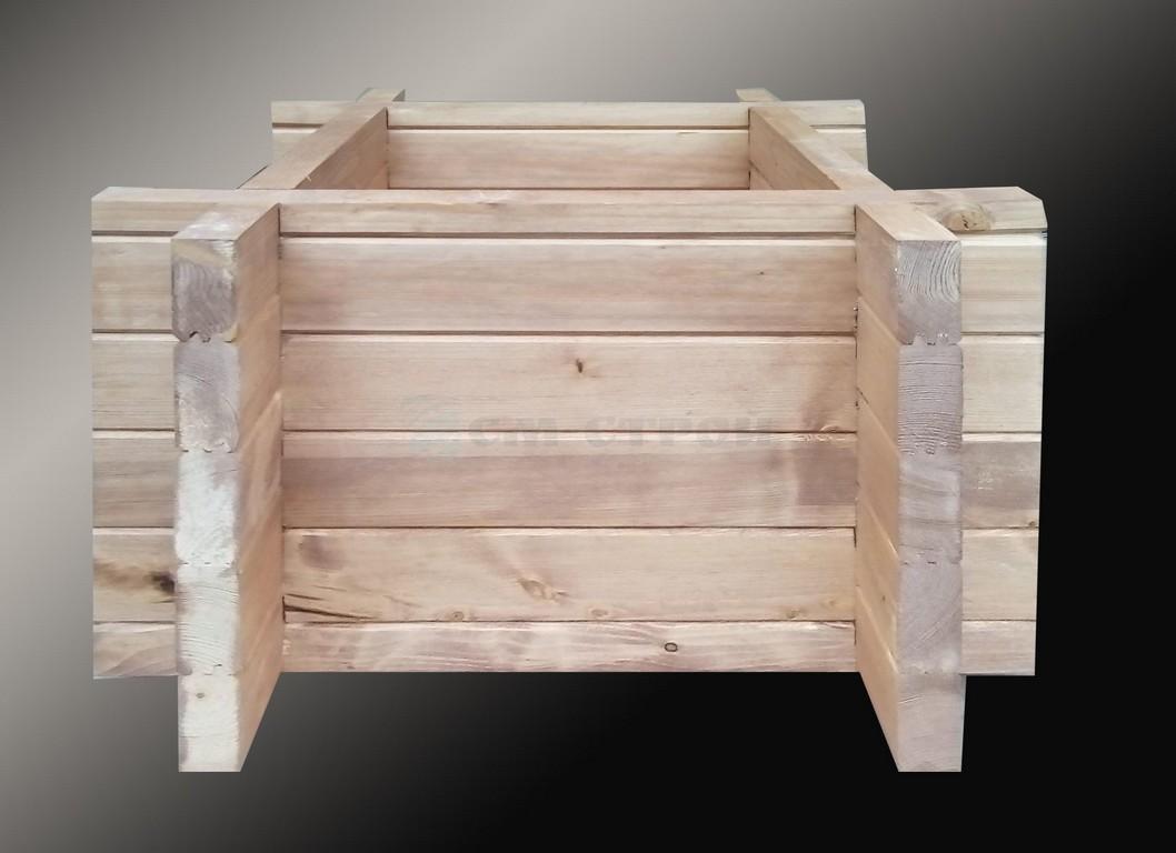 Кашпо из древесины