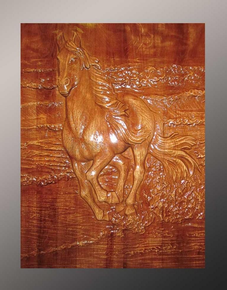 Деревянное панно 8-004