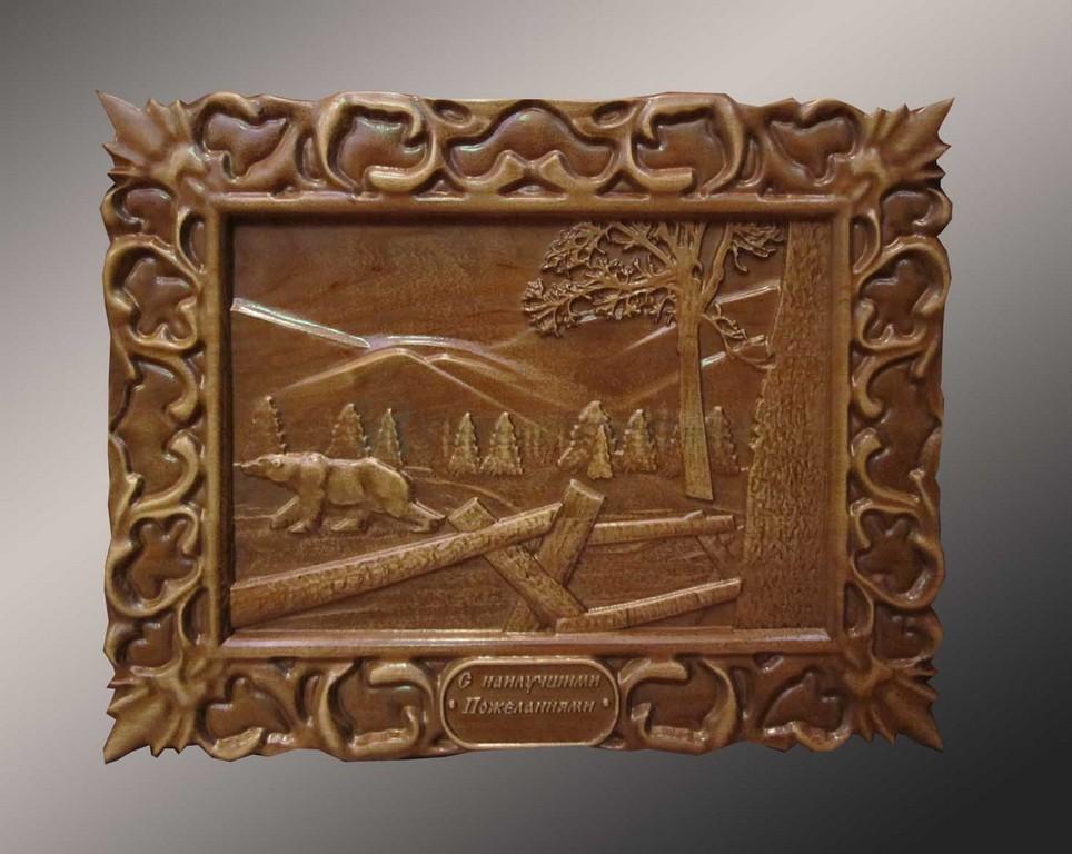 Деревянное панно 8-005
