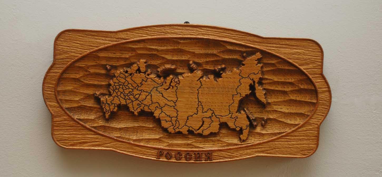 Деревянное панно 8-006