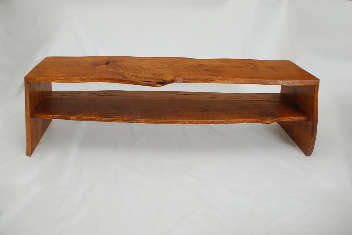 Консоль из слэба древесины