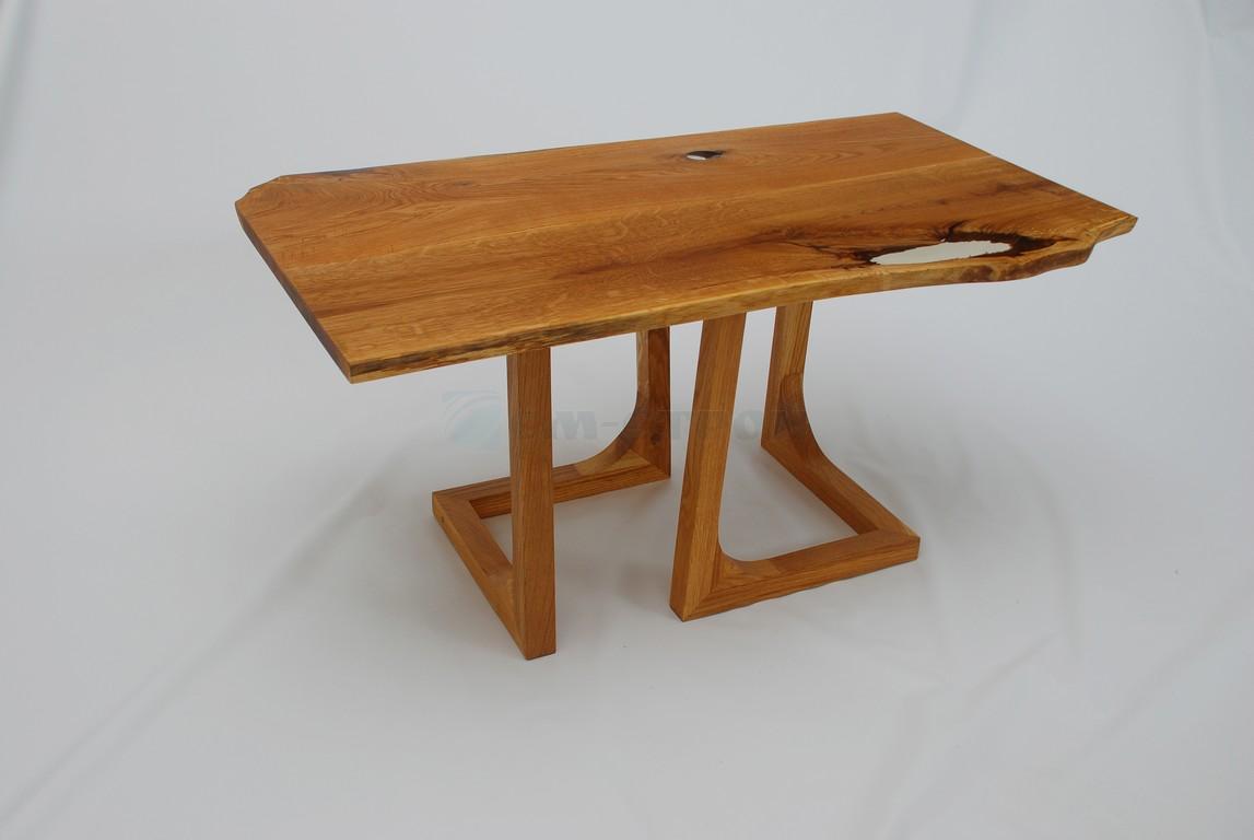 Столик из слэба древесины в эко стиле