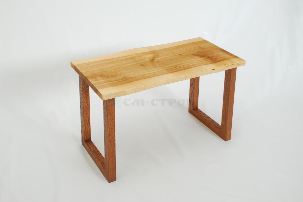 Столик из слэба древесины