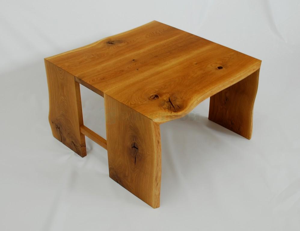 Столик из слэба дуба в эко стиле