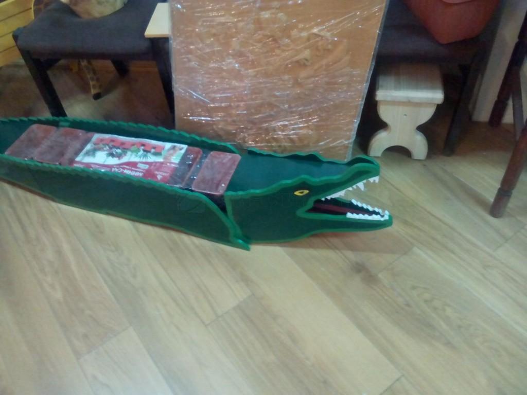 Цветочница Крокодил