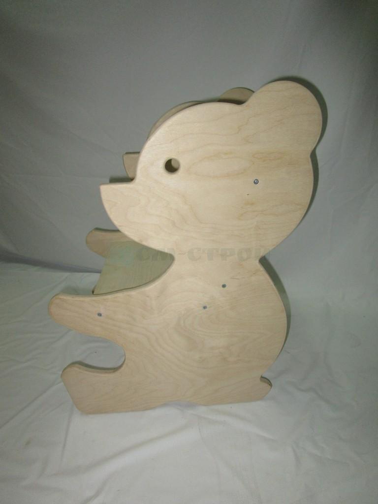 Стульчик Медведь